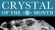 Crystal of the month banner
