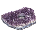 Amethyst Tea Light Holders