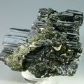 Black and Green Tourmaline Complex Healing Mineral Specimen ~60mm