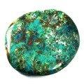 Chrysocolla Polished Stone ~44mm