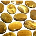 Mookaite Gold Palm Stone