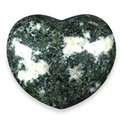 Preseli Stonehenge Bluestone Crystal Heart ~45mm