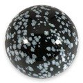 Snowflake Obsidian Medium Crystal Sphere ~4.5cm