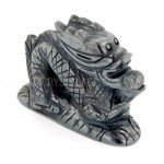 Hematite Carved Chinese Dragon