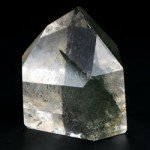Phantom Quartz Polished Point  ~7 x 6cm