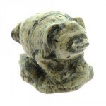 Silver Leaf Jasper Money Toad (Small)