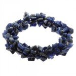 Sodalite Crystal Bracelet - Gemstone Chips