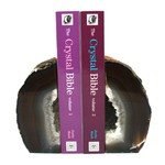 Agate Bookends ~8cm  Natural Brown