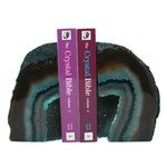 Agate Bookends ~16cm  Turquoise
