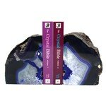Agate Bookends ~20cm  Purple