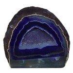 Agate Geode - Purple ~13cm