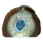 Agate Geode - Turquoise ~15.5cm