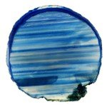 Agate Slice - Blue ~119mm