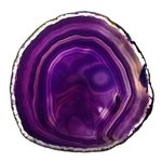 Agate Slice - Purple  ~120mm