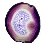 Agate Slice - Purple  ~125mm