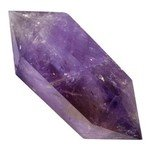 Amethyst Double Terminated Polished Point  ~7 x 3 cm