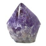 Amethyst Polished Point  ~9.7 x 7.5cm