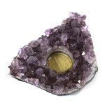Amethyst Tea Light Candle Holder ~ 13.5 x 13cm