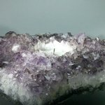 Amethyst Tea Light Candle Holder ~14 x 13 cm