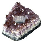 Amethyst Tea Light Candle Holder ~ 15.5cm
