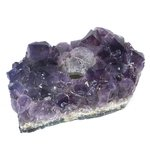 Amethyst Tea Light Candle Holder ~15 x 9cm