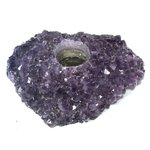 Amethyst Tea Light Candle Holder ~16 x 12.5cm