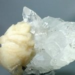 DELIGHTFUL Apophyllite with Stilbite Crystal Cluster ~10.2cm