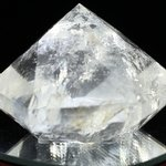 Beautiful Quartz Faceted Polished Diamond Prism ~50mm