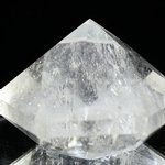 Beautiful Quartz Faceted Polished Diamond Prism ~52mm