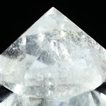 Beautiful Quartz Faceted Polished Diamond Prism ~60mm