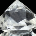 Beautiful Quartz Faceted Polished Diamond Prism ~62mm
