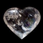 ATTRACTIVE Quartz Polished Heart ~66mm