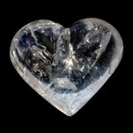 Beautiful Quartz Polished Heart ~68mm