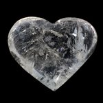 Beautiful Quartz Polished Heart ~70mm