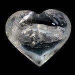 BEAUTIFUL Quartz Polished Heart ~75mm
