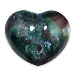 Bloodstone Crystal Heart ~45mm