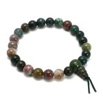 Bloodstone Power Bead Bracelet