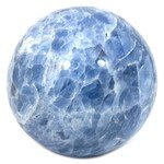 Blue Calcite Crystal Sphere ~13cm