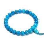 Blue Howlite Power Bead Bracelet
