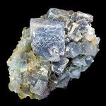 Blue Sky Fluorite with Limonite ~70mm