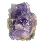 Blue Sky Fluorite with Mauve Crystals ~65mm
