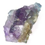 Blue Sky Fluorite with Mauve Crystals ~74mm