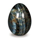 Blue Tiger Eye Crystal Egg