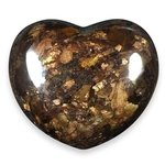 Bronzite Crystal Heart ~45mm