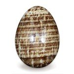Brown Aragonite Crystal Egg ~48mm