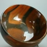 Carnelian Gemstone Healing Oil Bowl ~95mm