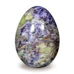 Charoite Crystal Egg ~48mm