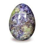 Charoite Crystal Egg