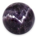 Chevron Amethyst Medium Crystal Sphere ~4.5cm