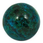 Chrysocolla & Malachite Crystal Sphere ~7cm